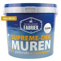 Supreme-dek, RAL 9010