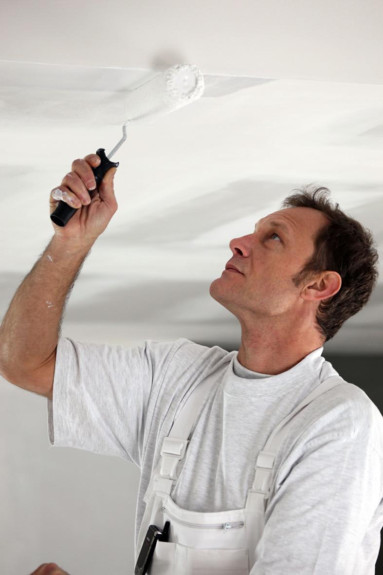 Hoe schilder je plafonds?